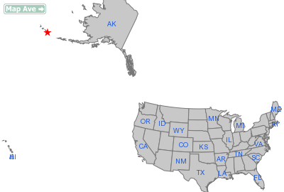 Atka City, AK Location in United States