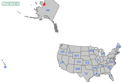 Buckland City, AK Location in United States