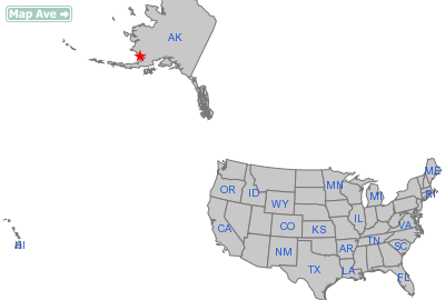 Clarks Point City, AK Location in United States