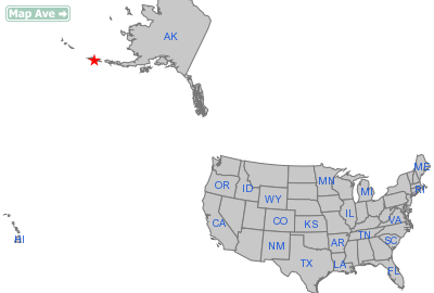 Dutch Harbor City, AK Location in United States