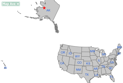 Kaltag City, AK Location in United States