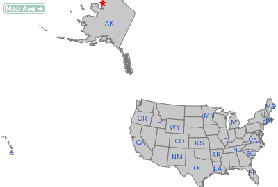 Noatak City, AK Location in United States