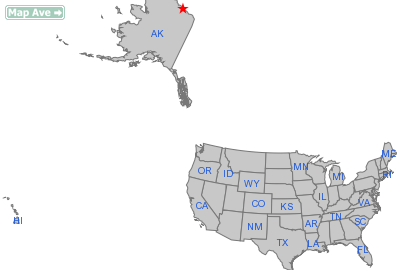 Prudhoe Bay City, AK Location in United States