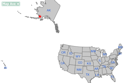 South Naknek City, AK Location in United States