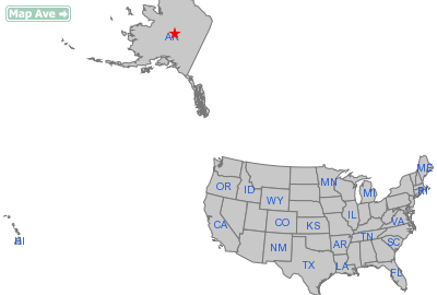 Tanana City, AK Location in United States