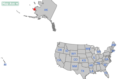 Toksook Bay City, AK Location in United States