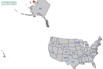 Wales City, AK Location in United States