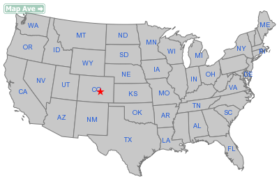 Fountain City, CO Location in United States