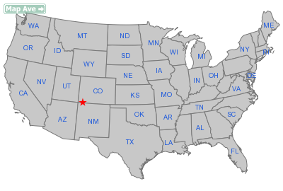 Redmesa City, CO Location in United States