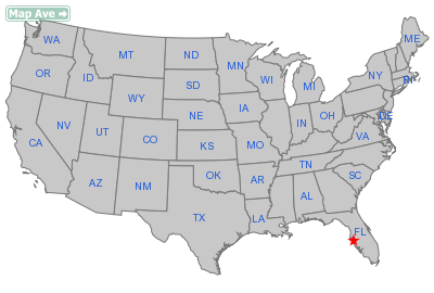 Ruskin City, FL Location in United States
